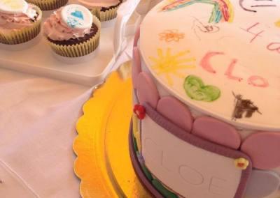 La tarta de Cloe