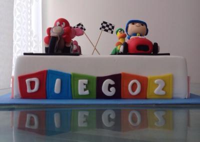 Diego y Pocoyó