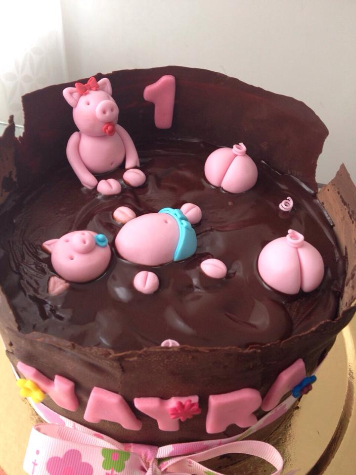 Nayra Y Los Cochinitos En Chocolate Kalule Cupcakes