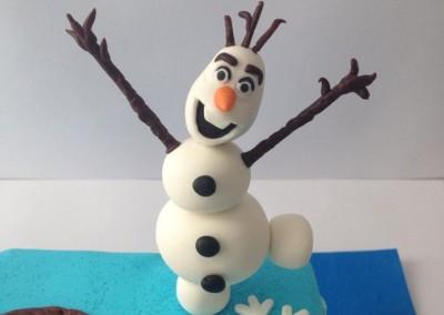 Ana, Elsa y Olaf