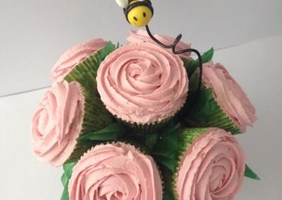 Cupcakes en flor